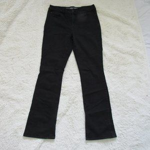 """Chico's Black Bareley Boot Jeans 31"""" 0 4"""